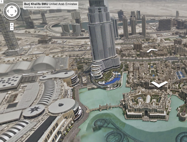 Amazing Exploration Of Burj Khalifa By Google Street Vie