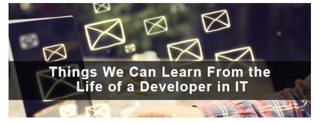 Life of a Developer  in IT