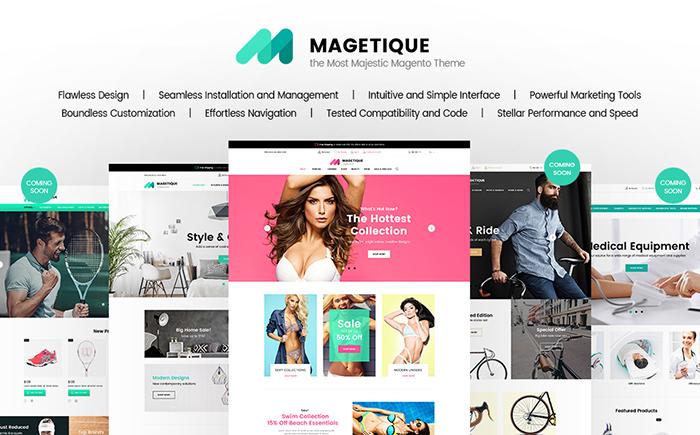 Magetique - Premium Responsive Magento 2 Theme